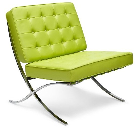 BARCELONA CHAIR IN APPLE GREEN SugarBang